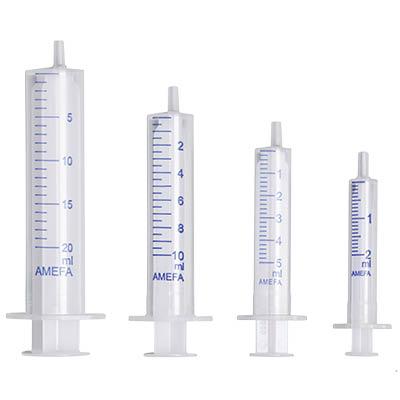 Einmalspritzen - Standard (2 - 20 ml)